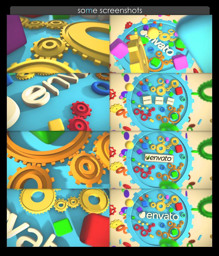 Toy Gear Logo Reveal - 5