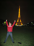 Doing my impression of the Eiffel Tower