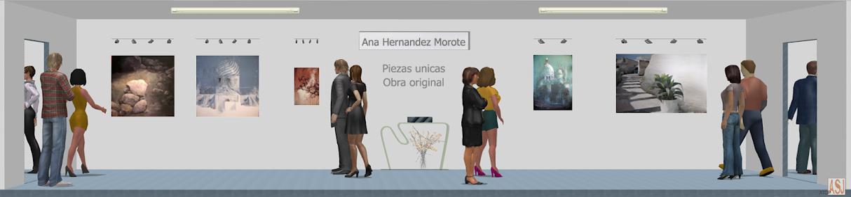 Sala de exposición virtual de Ana Hernández Morote,del pintor al comprador,