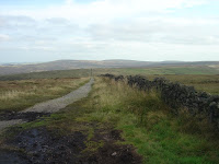 "View south east from Shining Tor towards Axe Edge and the ""Cat and Fiddle"""
