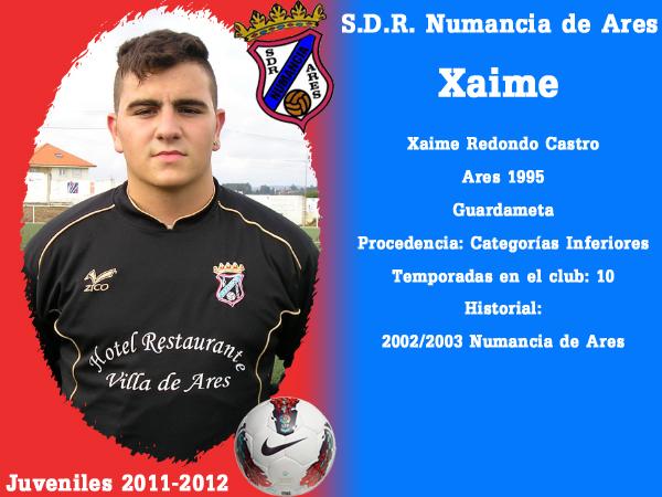 ADR Numancia de Ares. Xuvenís 2011-2012. XAIME.