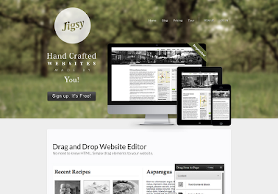 Jigsy.com free online website builders