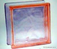 裝潢五金 品名:歐洲玻璃磚-2 規格:19*19CM 顏色:粉紅色