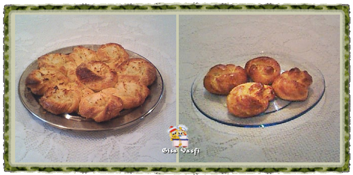 Pão rosca flor