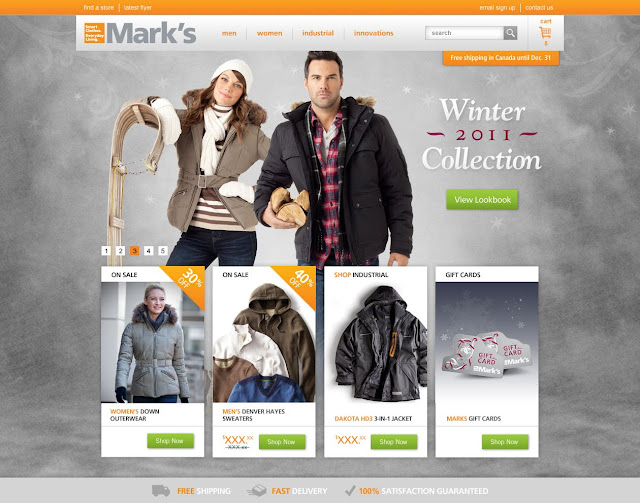 Mark's Reintroduces Online Shopping
