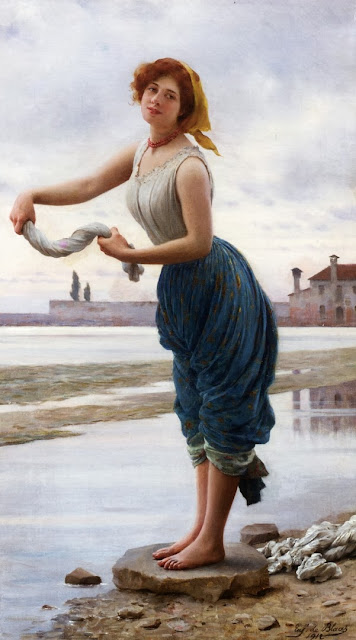 Eugene de Blaas - The Lavender