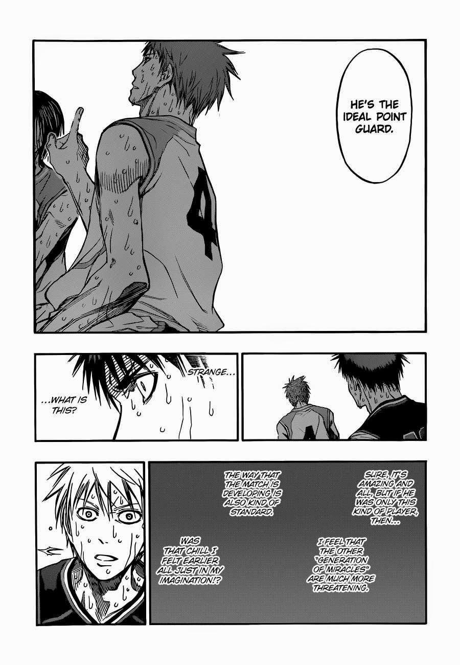 Kuroko no Basket Manga Chapter 267 - Image 16