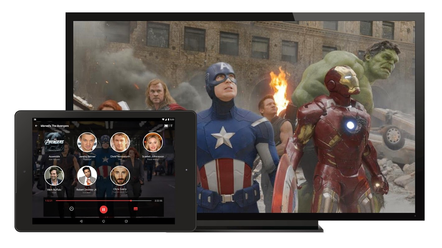 Google Play Movies Second Screen