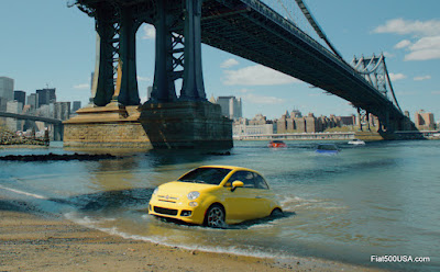Fiat 500 commercial image