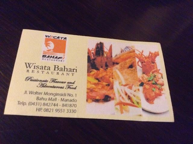 Camera Card Card Wisata Bahari Manado