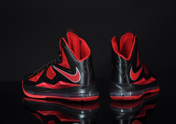 Nike LeBron X 8211 Black  Red 8211 Available Early in Europe
