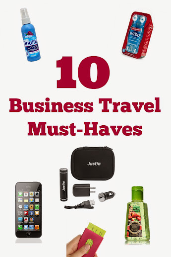 10 Must Haves for Business Travel