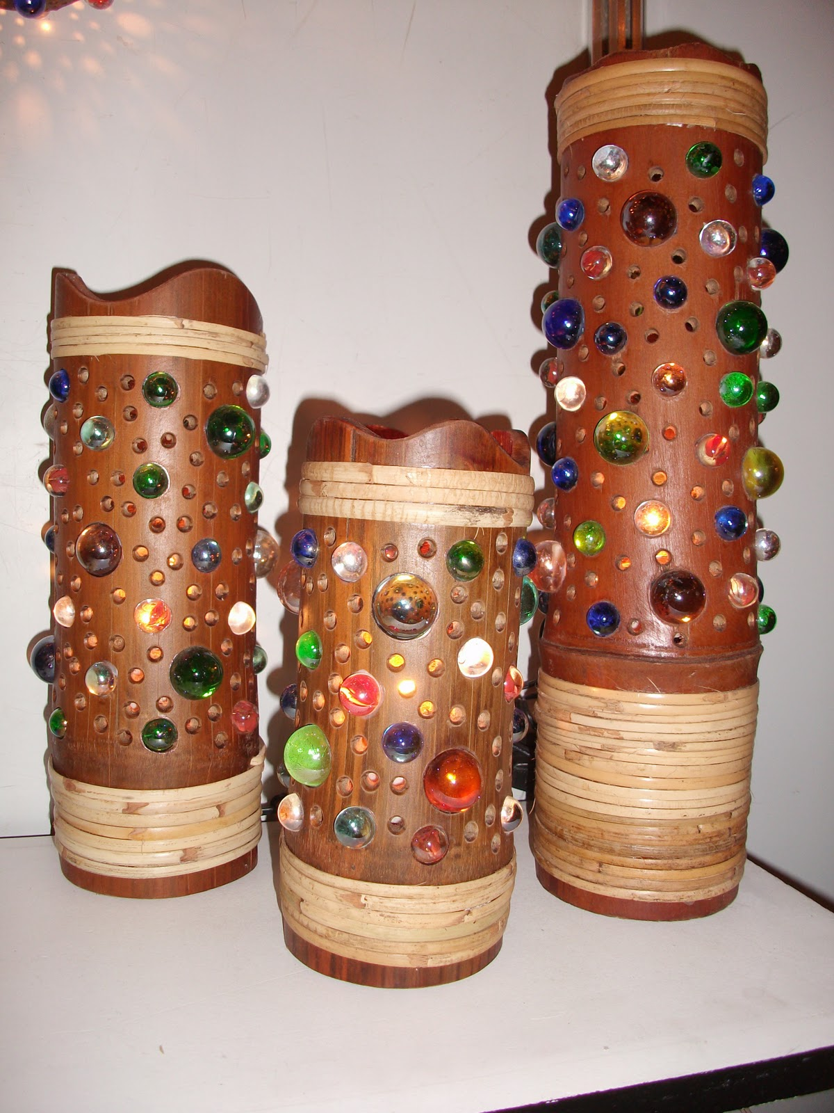 Wild bamboo crafts for Crafts using bamboo