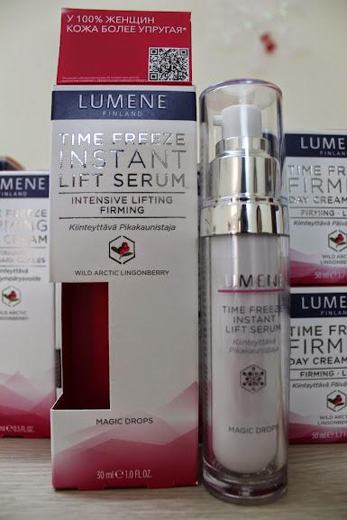Dưỡng chất serum cho da mặt chiết xuất từ thiên nhiên Lumene