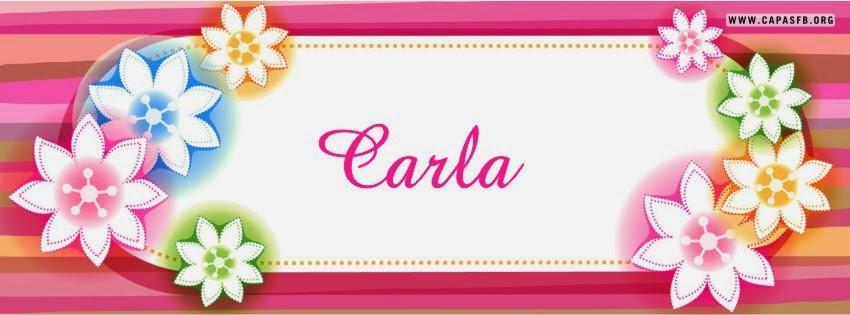 Capas para Facebook Carla
