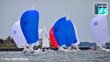J/22 one-design sailboats- sailing Charleston