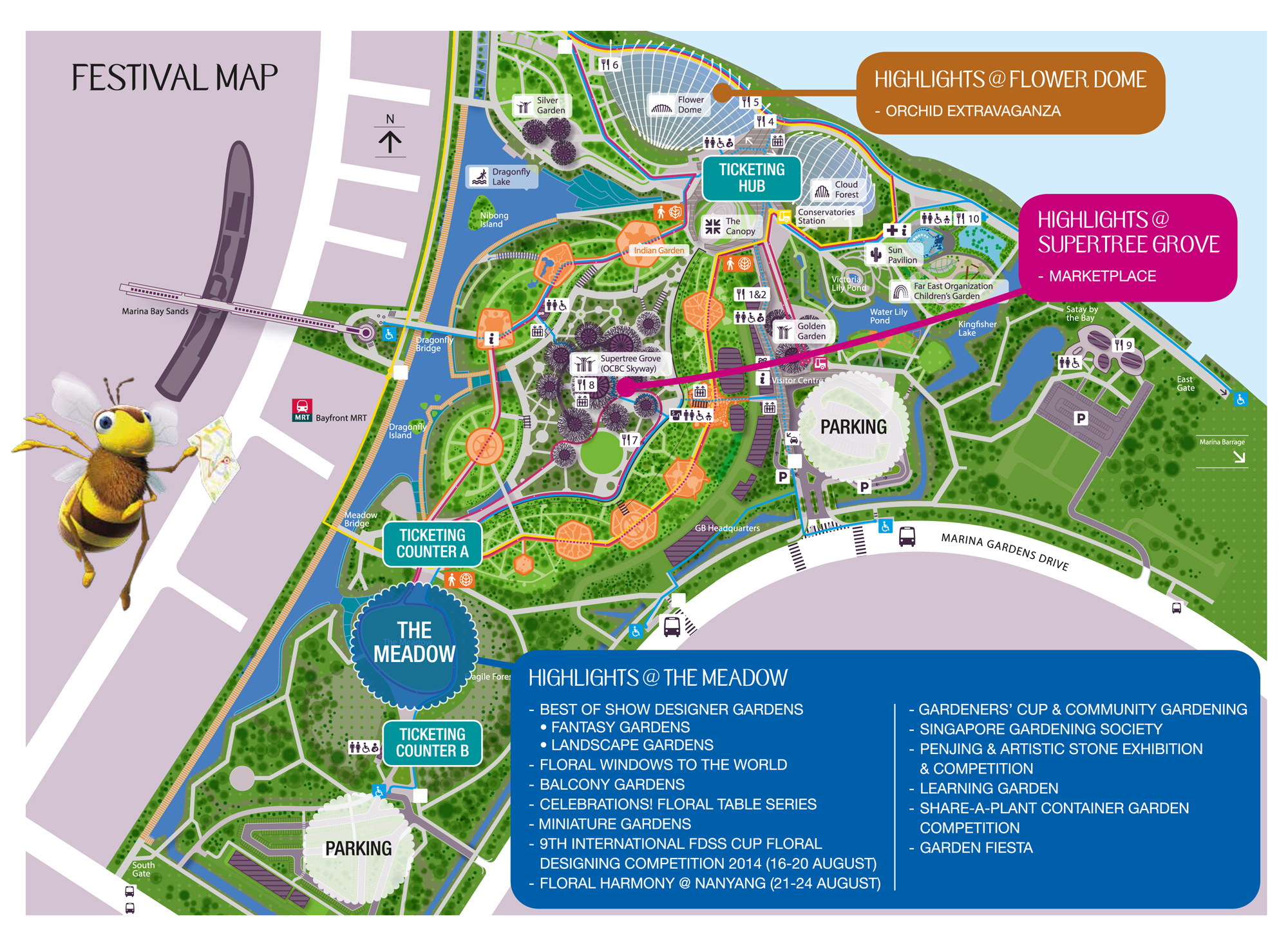 Singapore garden festival in full bloom the wacky duo singapore family and parenting blog - Garden by the bay festival ...