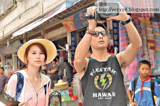 黃翠如(左)獲委以重任擔演《心路GPS》女主角,與陳展鵬(右)拍檔,壓力不少。