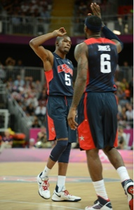 LeBron and Durant Olympics