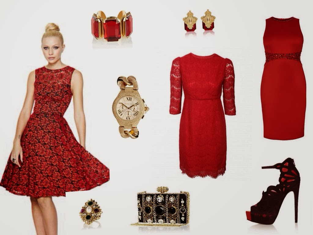 The Perfect Red Dresses For This Season