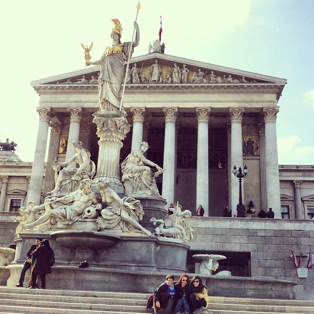 Palacio del Parlamento de Viena