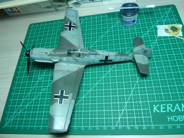 Bf-109 E-3 Tamiya 1/48 - Reforma pintura P1020570