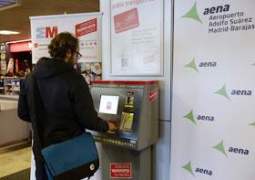 Tarjetas Turísticas de Transporte en el aeropuerto de Barajas