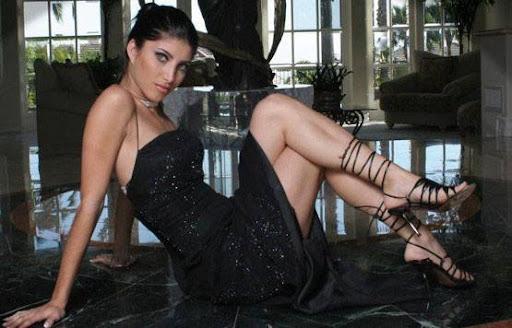 Persian Model Miriam Shenasi cute