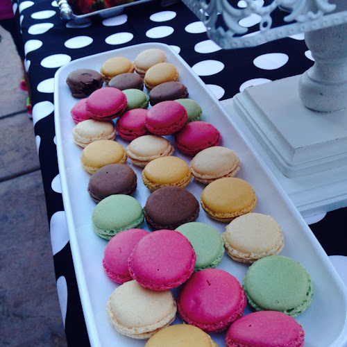 One sweet slice, French macaroons