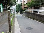 永坂上部の岡仁庵邸・森要蔵道場辺