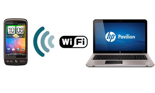 Как передать файлы с компьютера по wi-fi