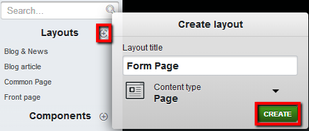 embed online forms on Edicy