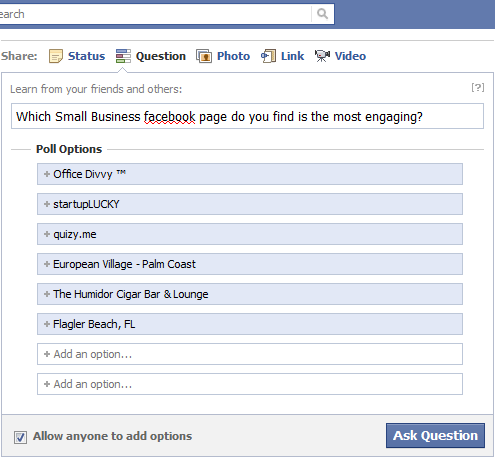 "Facebook Enters ""Social Media Questions 2.0"" Market ..."
