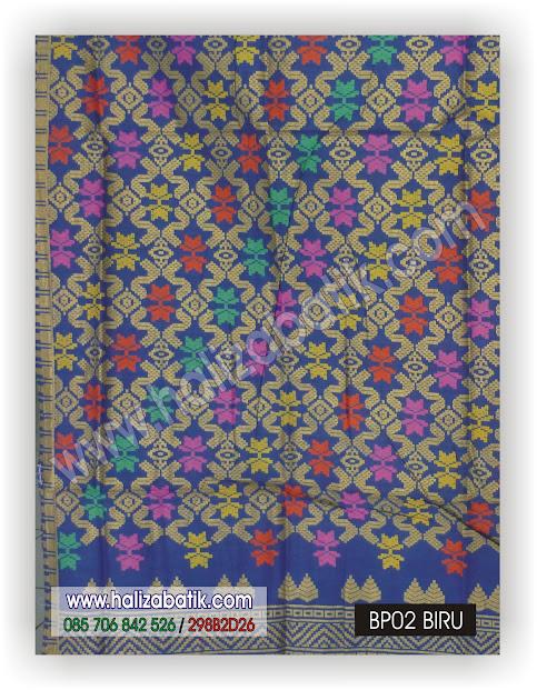 Kain Batik, Sarimbit Batik, Seragam Batik, BP02 BIRU