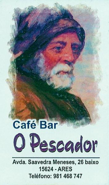 Café Bar O Pescador, colaborador coa A.D.R. Numancia de Ares.