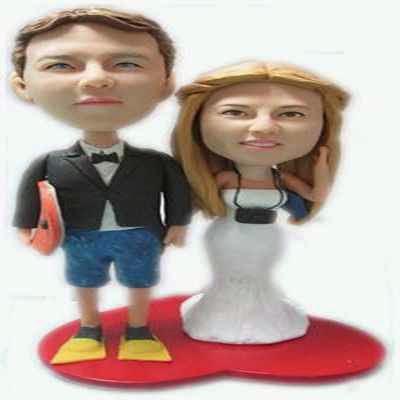 Muñeco de noviso personalizado como idea de regalo para tu enamorado