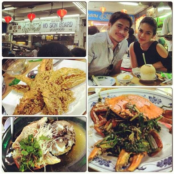 APiolo Pascual and Shaina Magdayao - Instagram Photos - 10-21-2012