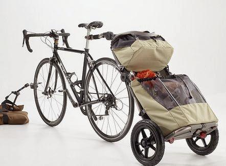 便利でかっこいい!自転車の輸送力をアップするバーリーカーゴ