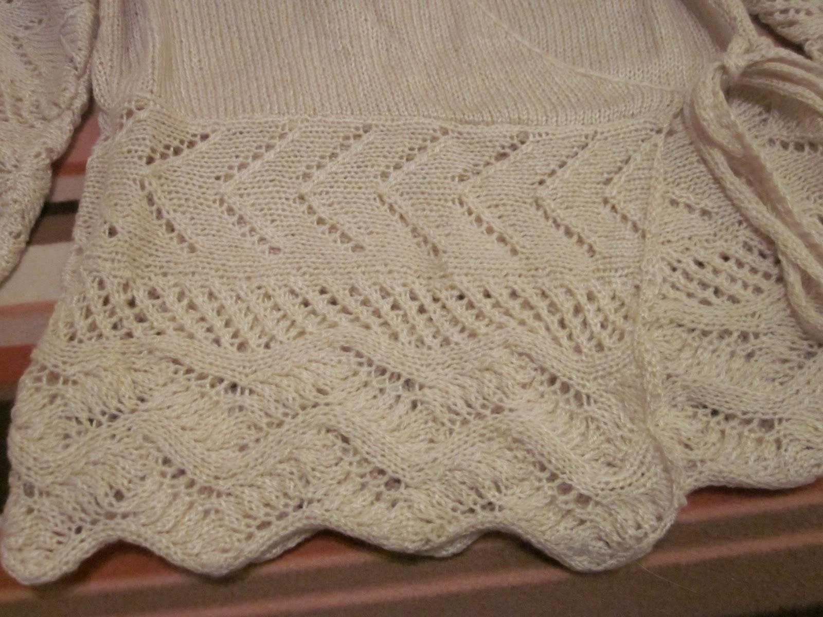 As paso mis d as jersey de punto a dos agujas en beig - Labores de punto de lana ...