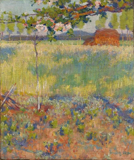 Robert Vonnoh - Springtime in France