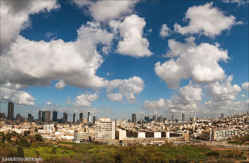 Самый необычный вид на Тель Авив (israel  Я тель авив путешествия небоскреб  20130202 ta skyline 001 IMG 0834)