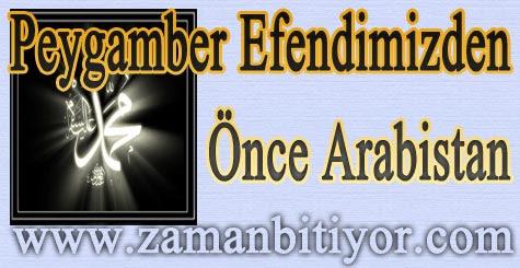 Peygamber Efendimizden Önce Arabistan