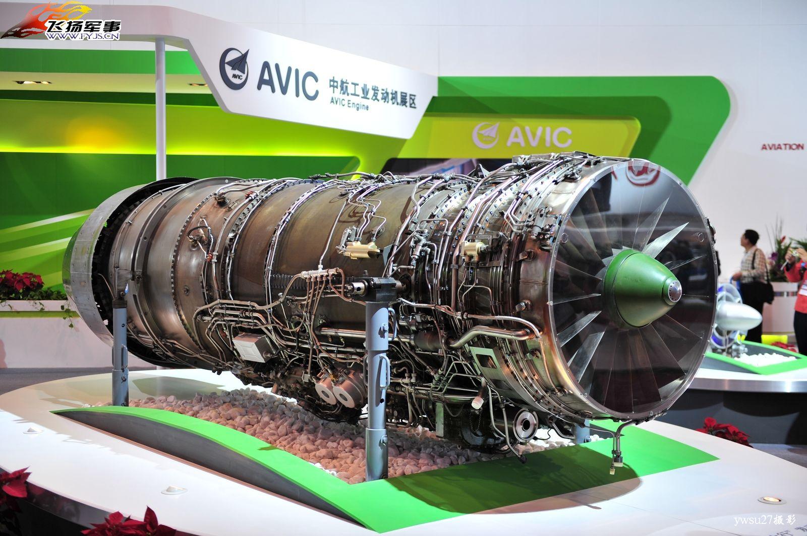 الصين : الحكومة المصرية بدأت الانتاج المشترك لجى اف 17 بعدما اشترت 48 واحدة والصين تصدر المدفع بلز 4 - صفحة 4 Chinese_WS-10B_Fighter_Aircraft_Engine