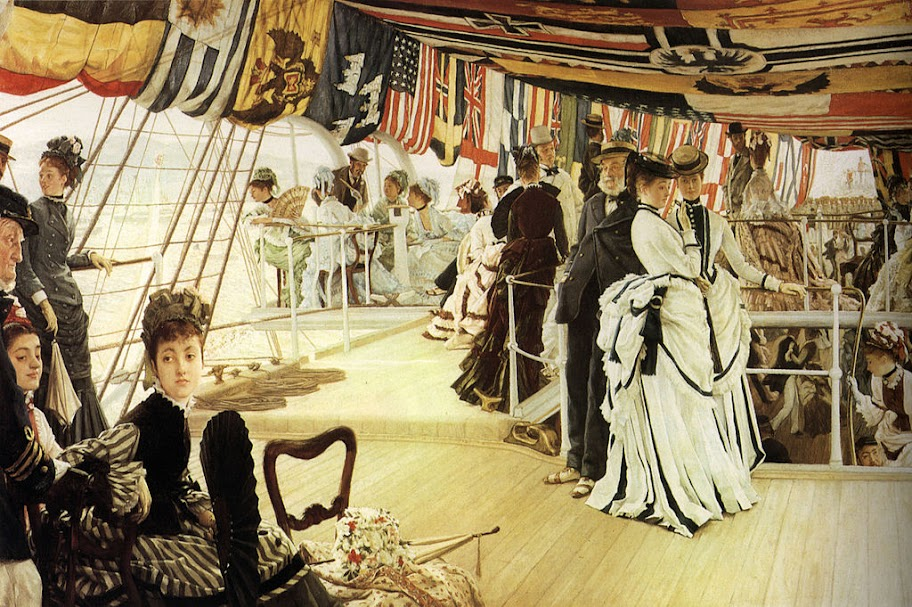 James Tissot - Ball on Shipboard