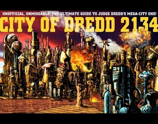 City of Dredd 2134
