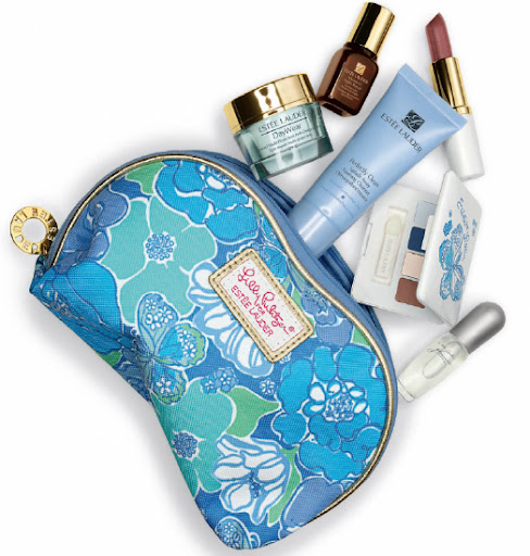 Estee Lauder Spring 2013 Lilly Pulitzer Floral Butterfly Gift Set
