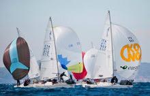 J/24 Italian championship off Lecco, Italy