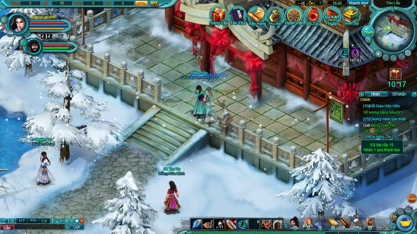 Hình ảnh thử nghiệm webgame Tiểu Lý Phi Đao - Ảnh 19