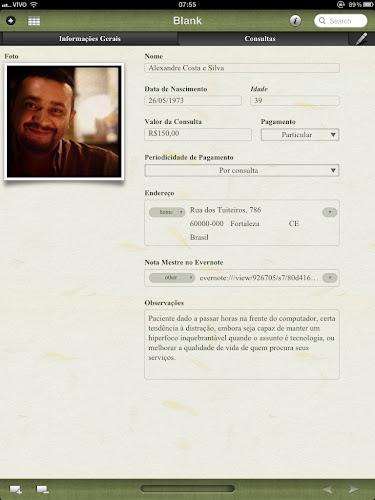 Screenshot do Bento 4 para iPad