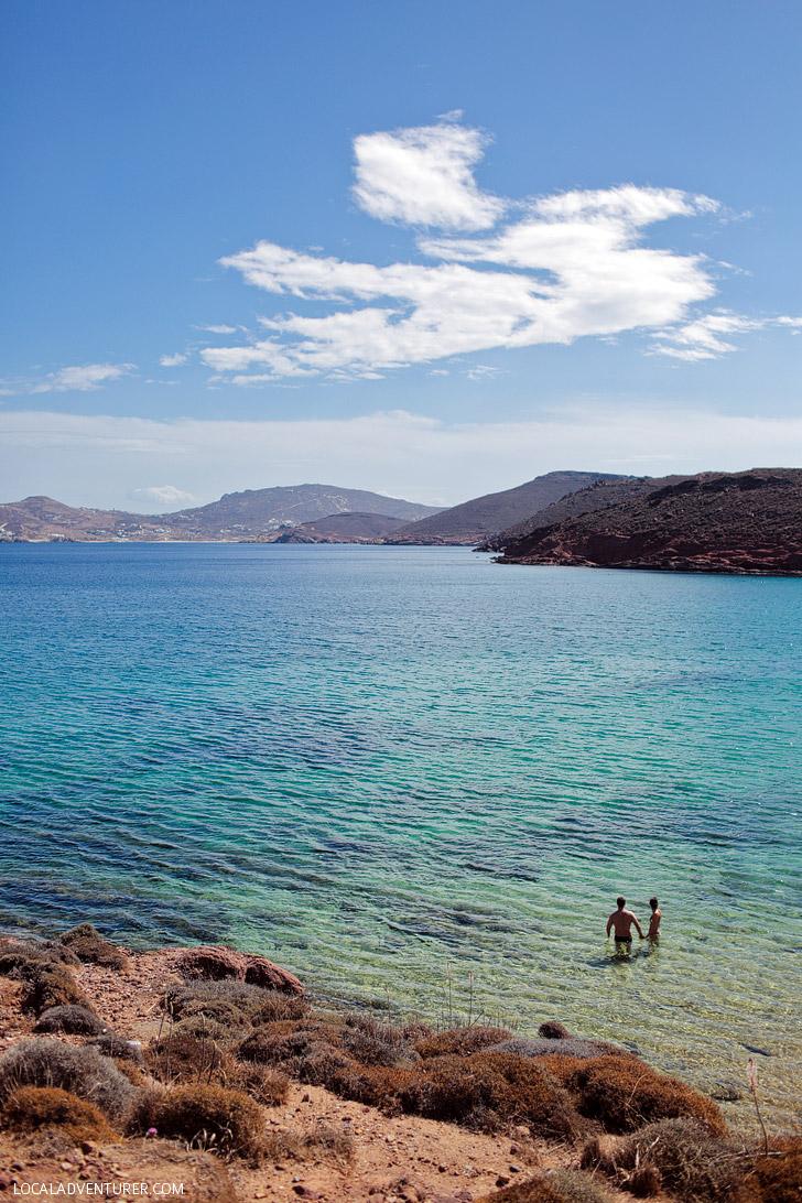 Agios Sostis Mykonos Beach (Best Beaches in Greece).